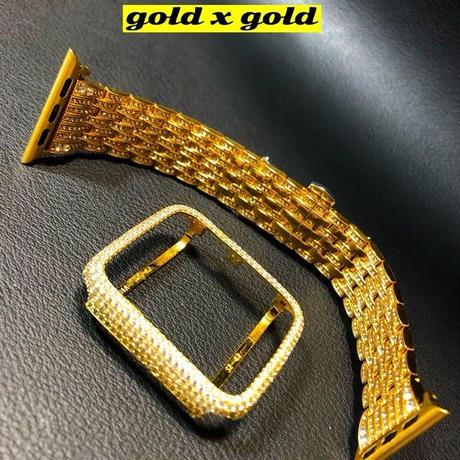 シリーズ123ゴールドカバーxゴールドベルト セット