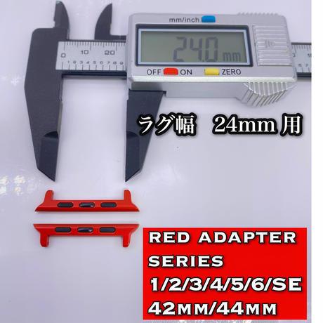 レッド アップルウォッチ用アダプター