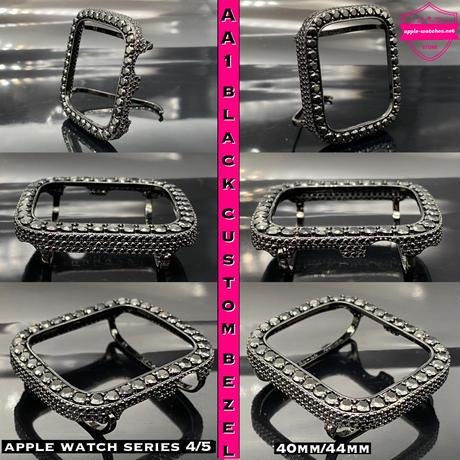 極太ブラックレザーx AA1ブラックカスタムカバーセット