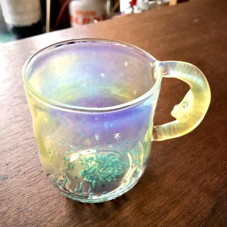月星マグカップ/moon star mug