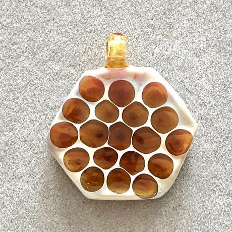 Honeycomb pendant
