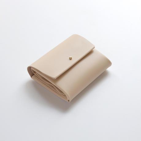 suare short wallet #beige/ スアレショートウォレット#ベージュ