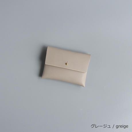 スアレ カード・コイン ケース AWcolor  / suare leather case