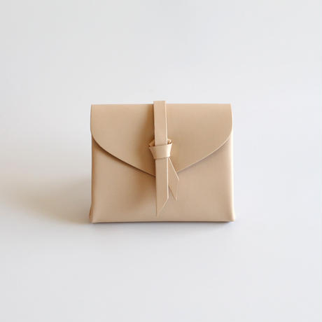[style&things]  ori short wallet #beige
