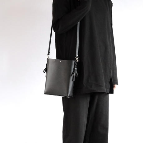 [style&things] 折りバケットショルダー #黒 /ori bucket shoulder #black
