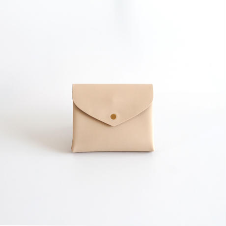 [style&things]  basic short wallet #beige
