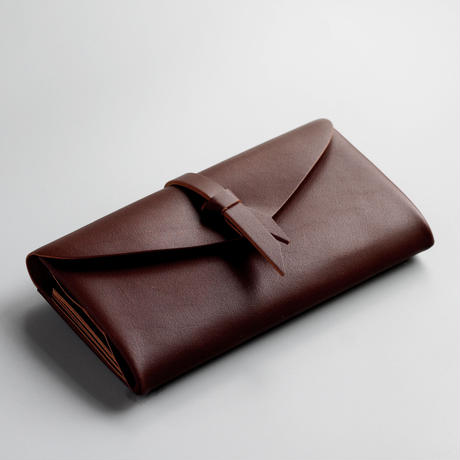 ori long wallet mag [3pocket] #brown /    折りロングウォレット マグ#茶 [3ポケットver]
