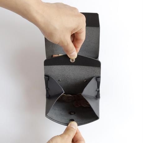 suare short wallet #black /スアレショートウォレット#黒