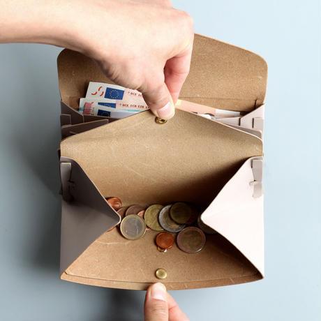 ori long wallet mag [3pocket] #greige /   折りロングウォレット マグ#グレージュ [3ポケットver]