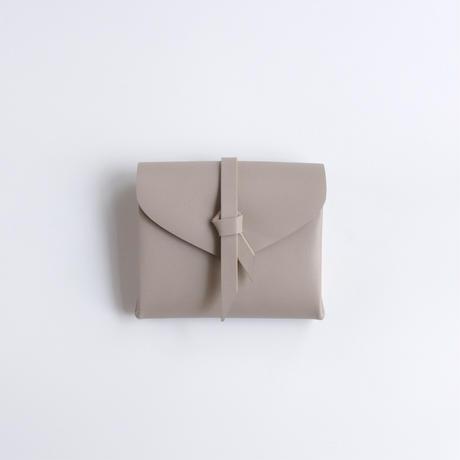 ori short wallet #greige /折りショートウォレット#グレージュ