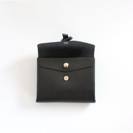 [style&things]  ori short wallet #black
