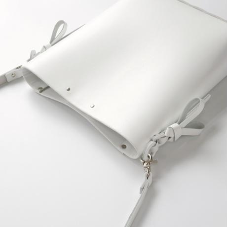[style&things] 折りバケットショルダー #白 /ori bucket shoulder #white