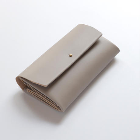 suare long wallet #greige 3pocket / 長財布スアレロングウォレット 3ポケット #グレージュ