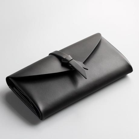 ori long wallet mag [3pocket] #black  / 折りロングウォレット マグ#黒 [3ポケットver]