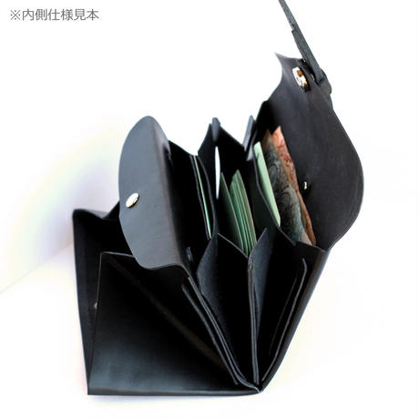[style&things]  ori long wallet  mag  #black x beige