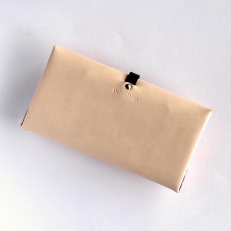 [style&things]  ori long wallet  mag  #beige x black