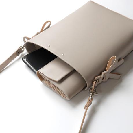 [style&things] 折りバケットショルダー #グレージュ /ori bucket shoulder #greige
