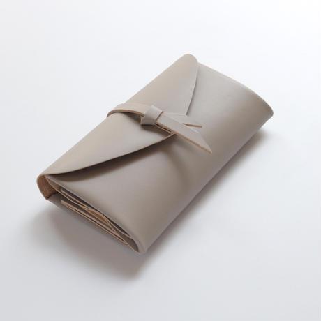 ori long wallet mag #greige / 折りロングウォレット マグ#グレージュ