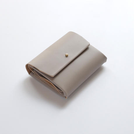 suare short wallet #greige /スアレショートウォレット#グレージュ