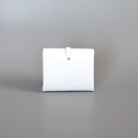[style&things]  ori short wallet #white