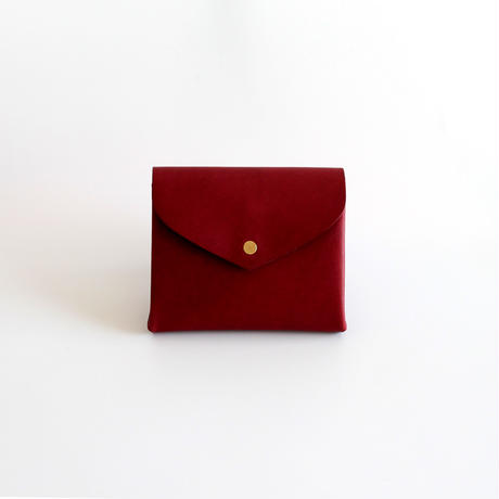 [style&things]  basic short wallet #wine