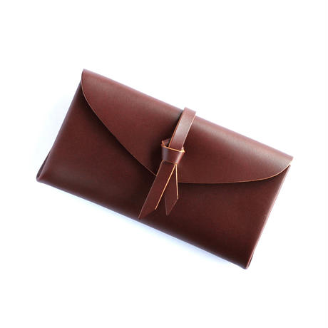 [style&things]  ori long wallet  mag  #brown