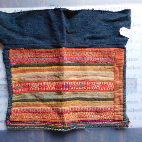 STORES アカ族 はぎれソックス脚絆NO. 5 30X29cm タイ ミャンマー北部山地岳 民族衣装 本物 手仕事 刺繍