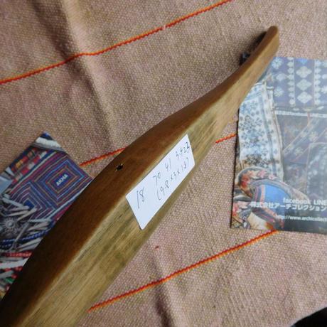 織り 織機 シャトル 杼 使用可 ストアーズno.18  70 g  全長41巾3.4高2.4 内径長8巾2.5深1.7cm shuttle 木製 オールド