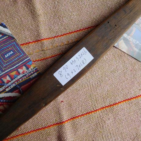 織り 織機 シャトル 杼 使用可 ストアーズno.8  90 g  全長43巾3.2高2.6 内径長9巾2.7深1.8cm shuttle 木製 オールド