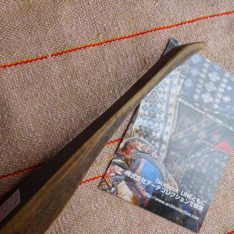 織り 織機 シャトル 杼 使用可 ストアーズno.10  60 g  全長43巾3.6高2.6 内径長9.3巾3.1深2.1cm shuttle 木製 オールド