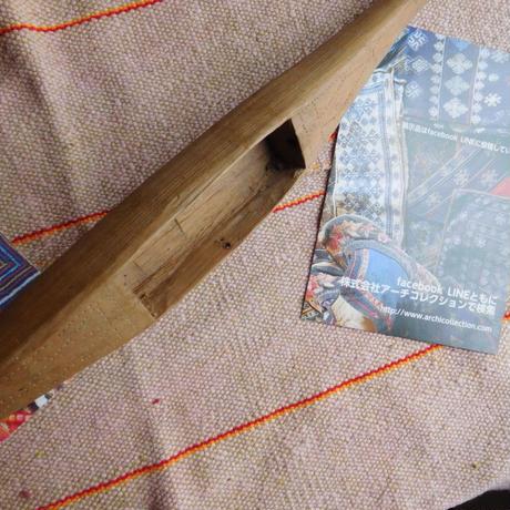 織り 織機 シャトル 杼 使用可 ストアーズno.16  90 g  全長43巾4.2高2.8 内径長9.5巾3.7深2.0cm shuttle 木製 オールド