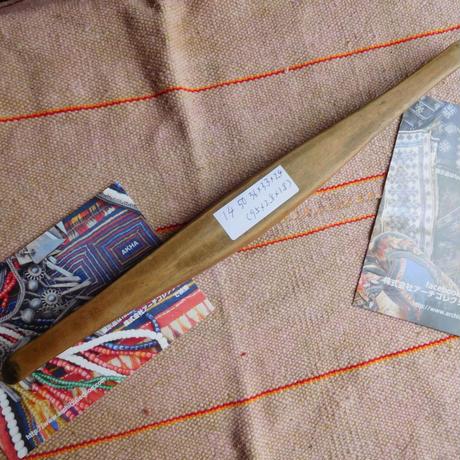 織り 織機 シャトル 杼 使用可 ストアーズno.14  50 g  全長36巾3.3高2.4 内径長9.5巾2.8深1.8cm shuttle 木製 オールド
