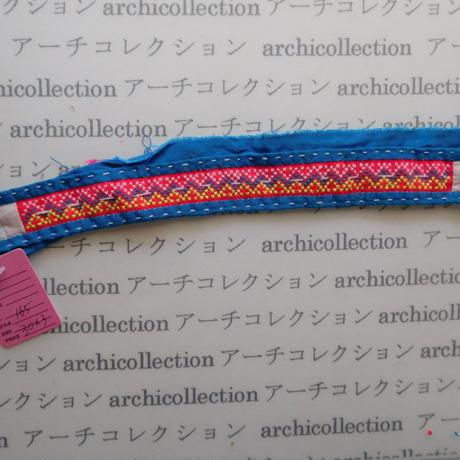 Hmong モン族 はぎれno.165  30x3 cm 刺繍布 古布 山岳民族 hilltribe ラオス タイ