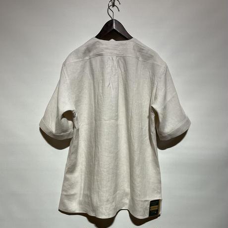 "ASEEDONCLOUD""Handwerker short sleeve  shirts"" (off white) unisex"
