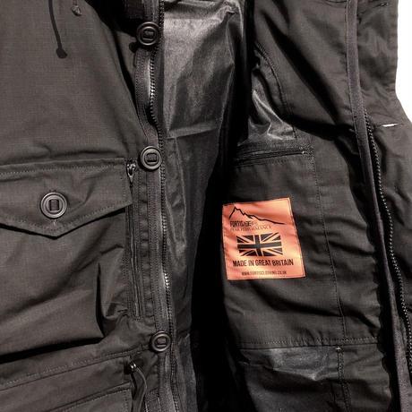 """FORTIS clothing UK """"waterproof SAS smock"""" (black) men's"""