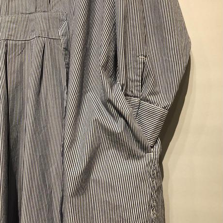 """CAERULA""""stripe tuck one-piece""""(navy)women's"""