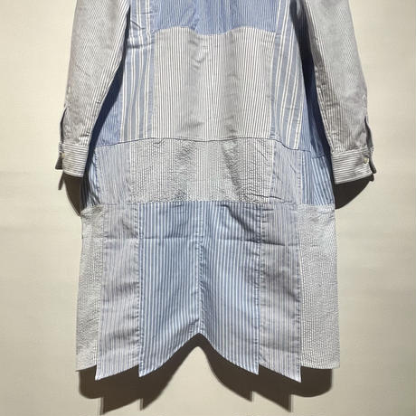 "yoused ""patchwork shirts one-piece""(asst)women's(A)"