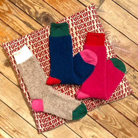 "decka quality socks""BRU NA BOINNE × decka quality socks Alpaca boucle socks"""