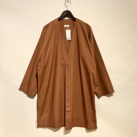 "HUE ""Slip-on type Jacket""(brown) unisex"