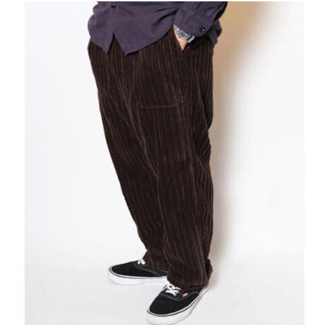 "TigreBrocante""slant corduroy tagosaku long pants""(brown)unisex"