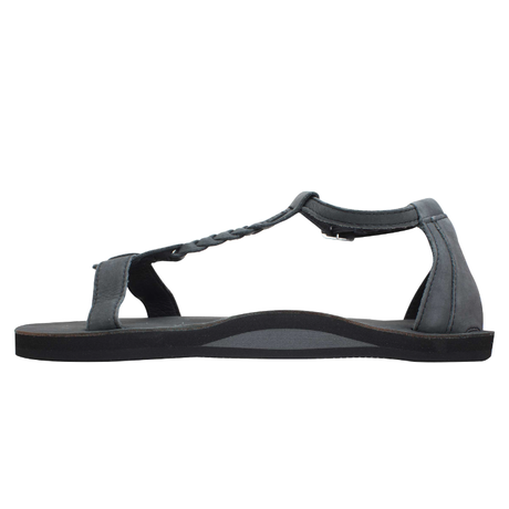 "RAINBOW SANDALS ""the kalafia ankle strap""(black)women's"