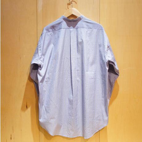 "amne ""stripe BC L/S shirts"" (blue) unisex"