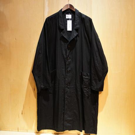 """H.UNIT """"raglan long atelier coat"""" (black) unisex"""