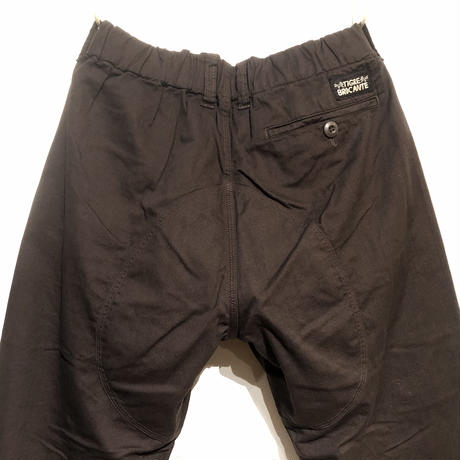 """TigreBrocante""""boulder pants""""(dk brown)unisex"""