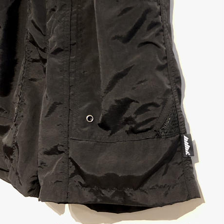 "THOUSAND MILE ""utility shorts"" (black)"