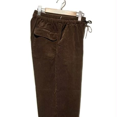 """H.UNIT """"corduroy easy pants""""(brown)unisex"""