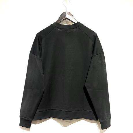 """amne """"giza round cardigan"""" (black) unisex"""