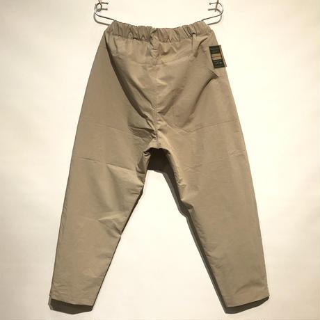 "ASEEDONCLOUD""Handwerker compact cloth easy trousers"" (beige) unisex"