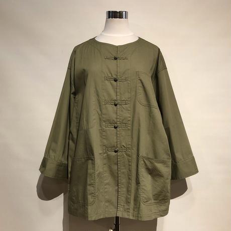 "HUE ""kung-hue jacket""(olive) unisex"