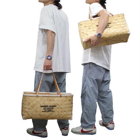 """Butler Verner Sails """"bamboo×leather market basket"""""""